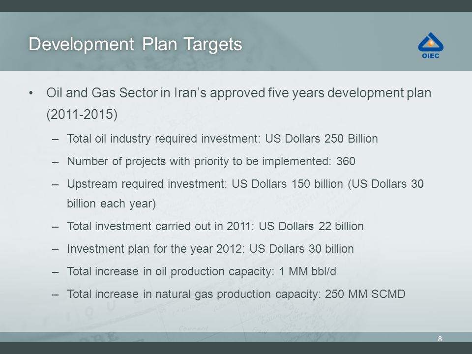 Development Plan Targets