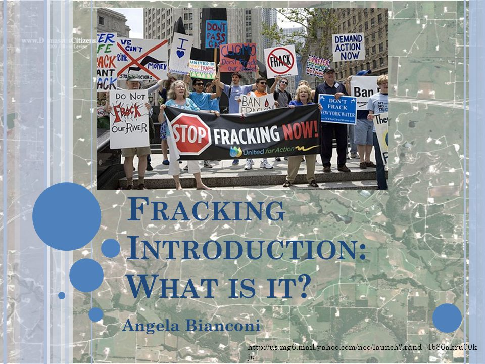 Fracking Introduction: What is it