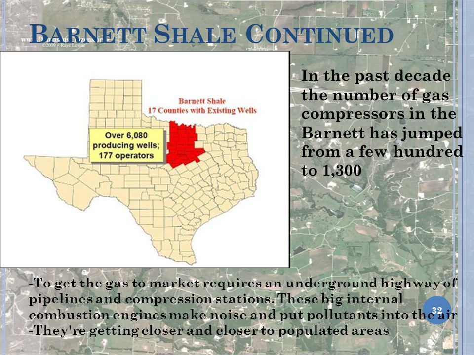 Barnett Shale Continued