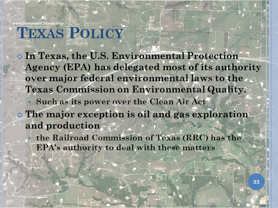 Texas Policy