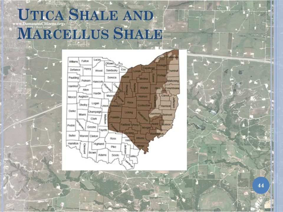 Utica Shale and Marcellus Shale