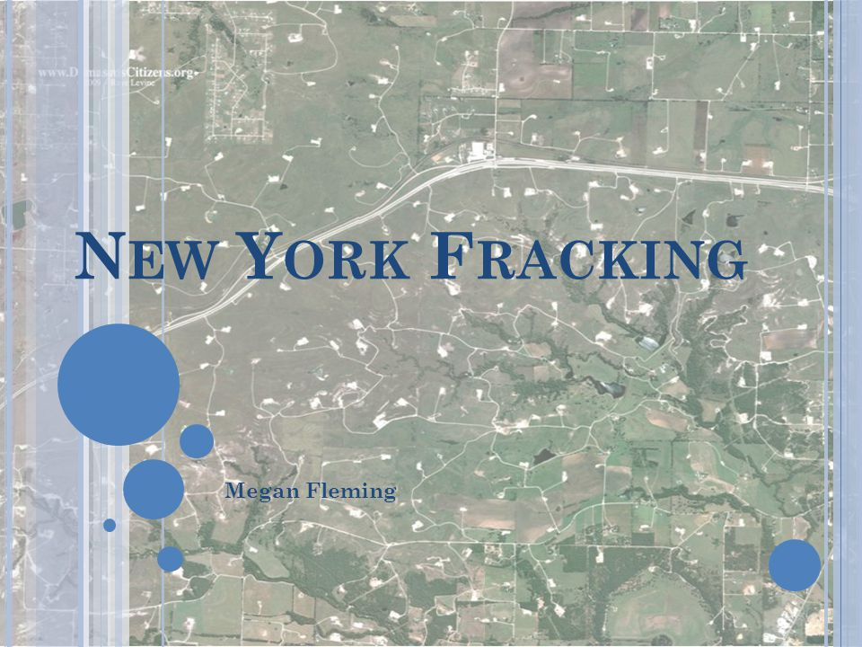 New York Fracking Megan Fleming