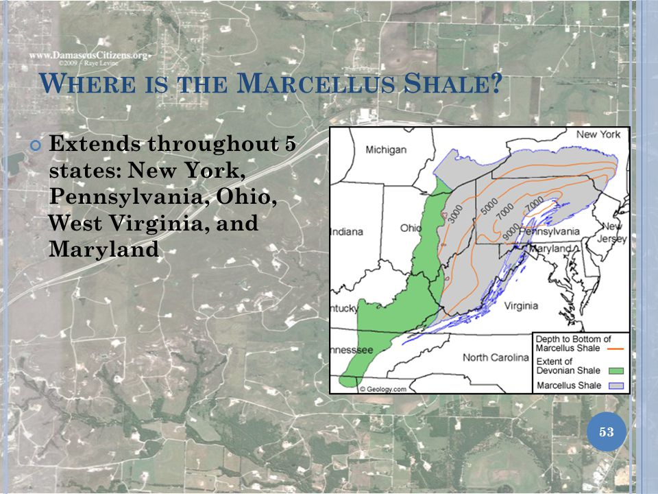Where is the Marcellus Shale