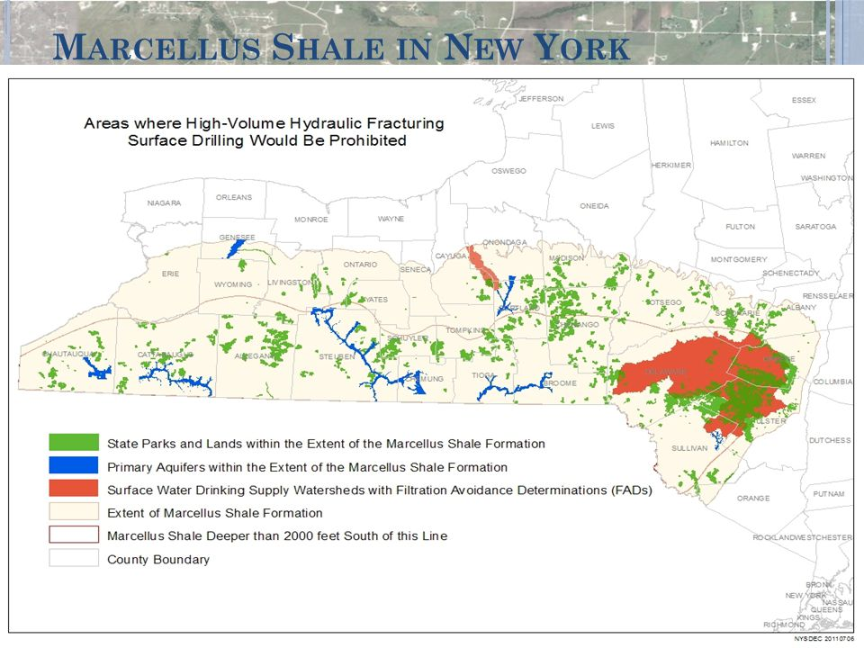 Marcellus Shale in New York