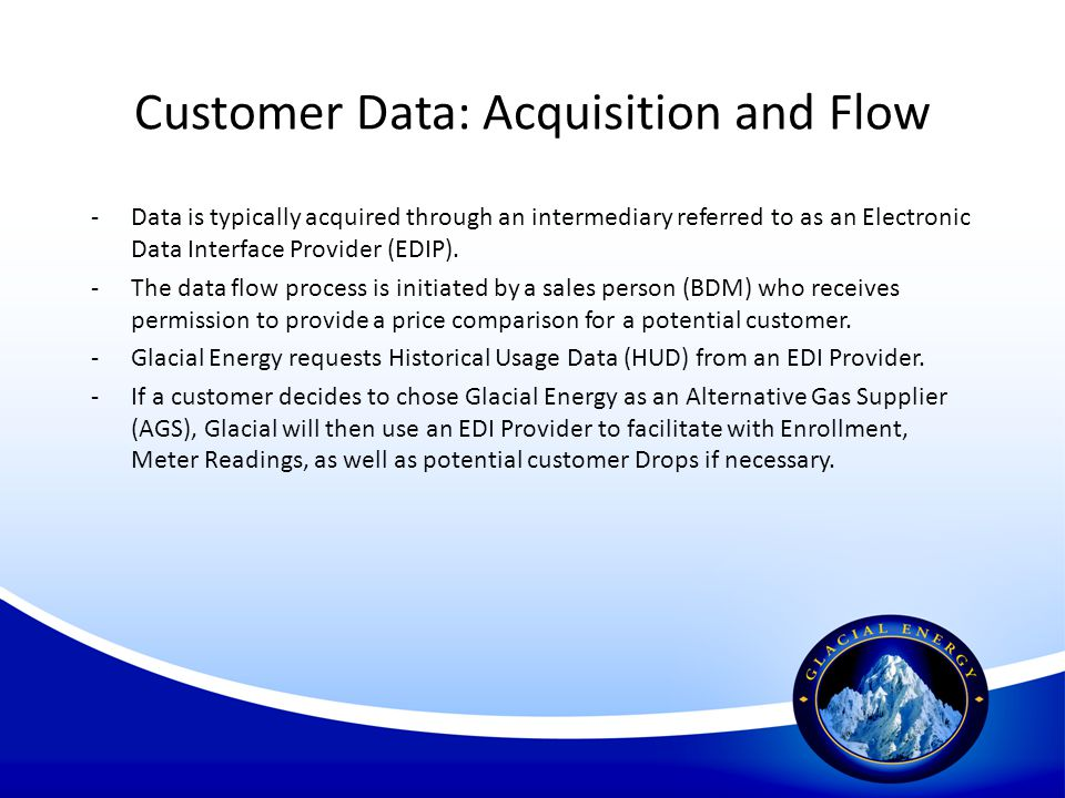 Customer Data: Acquisition and Flow