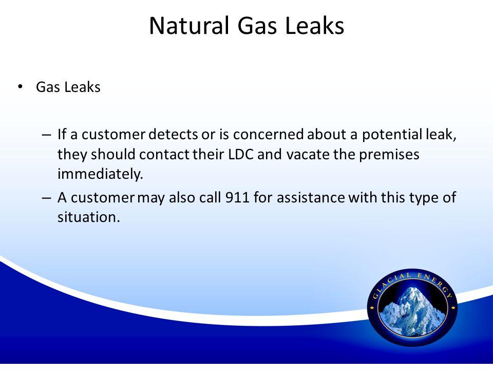 Natural Gas Leaks Gas Leaks