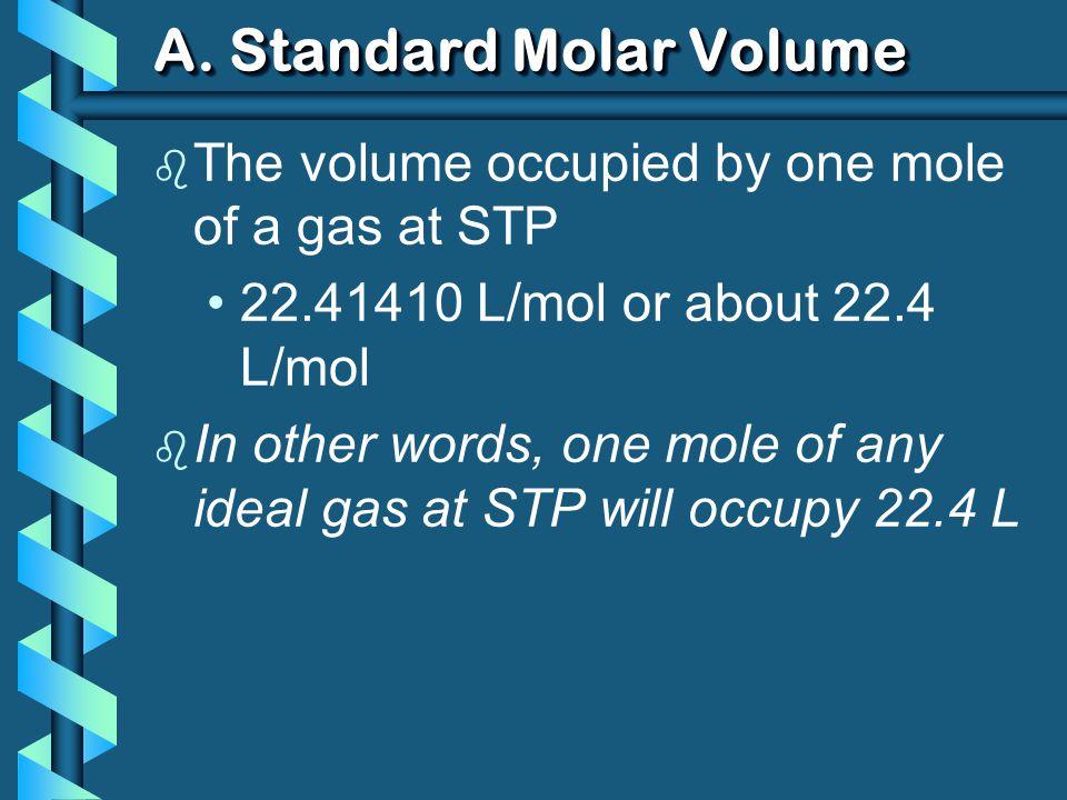 A. Standard Molar Volume