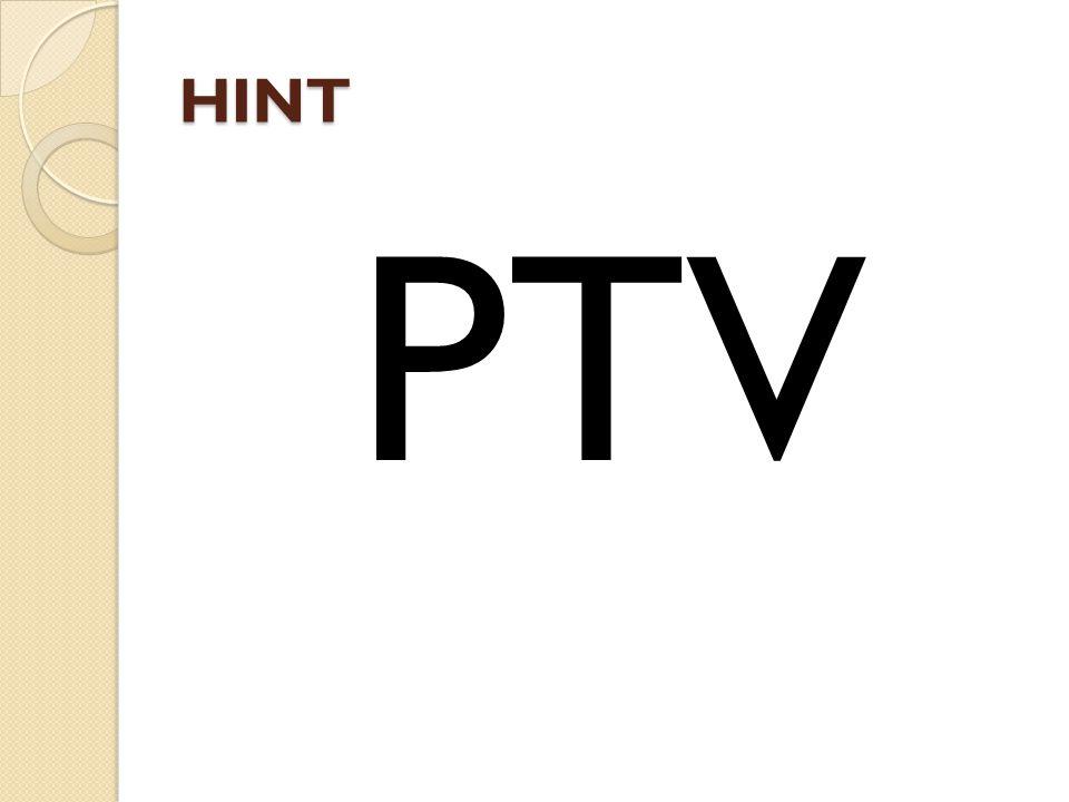 HINT PTV