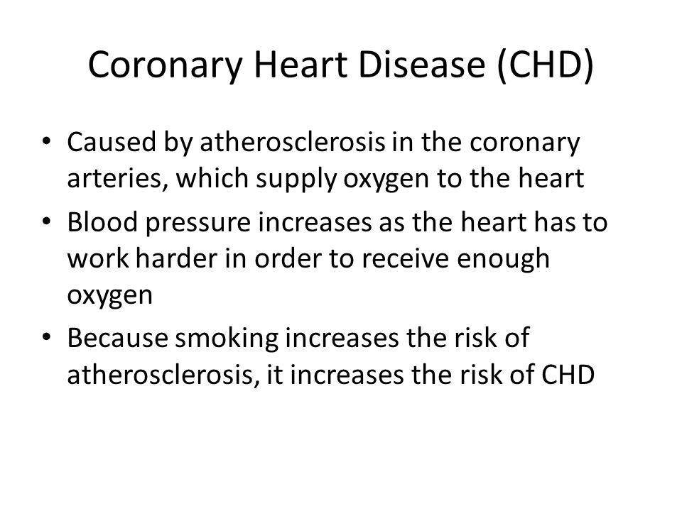 Coronary Heart Disease (CHD)