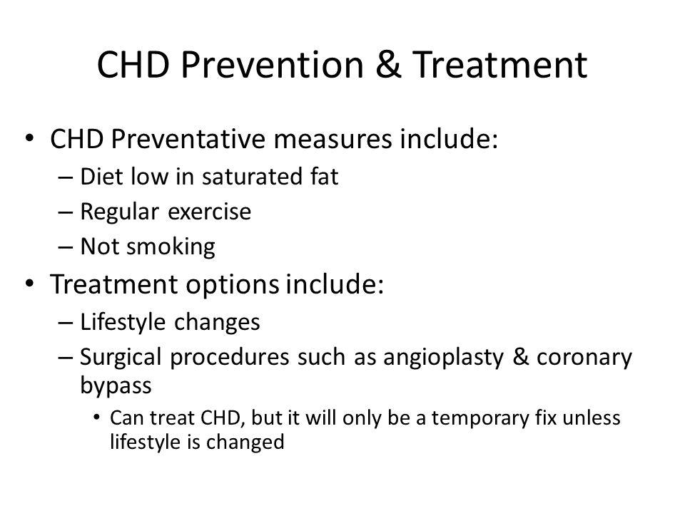 CHD Prevention & Treatment