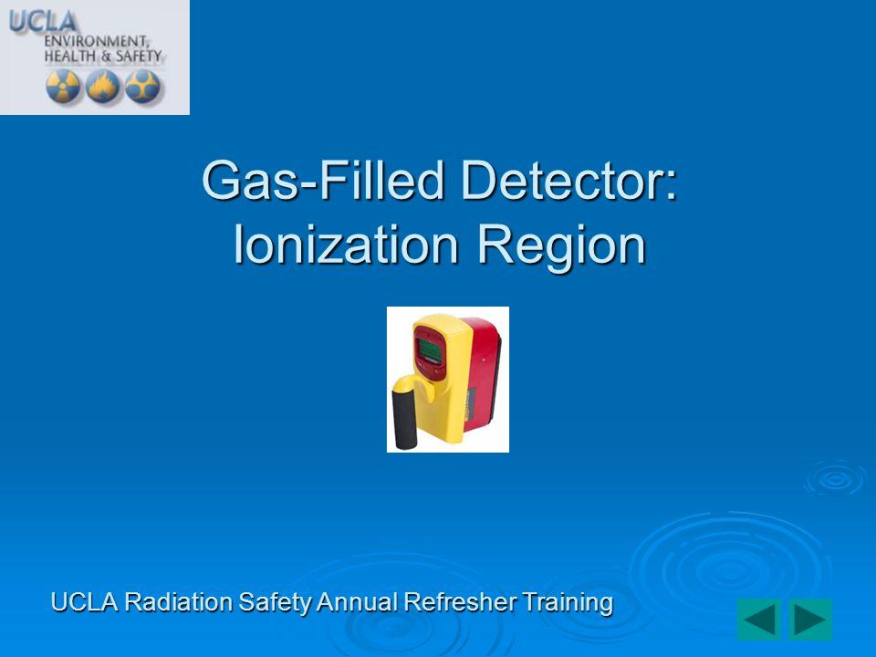 Gas-Filled Detector: Ionization Region