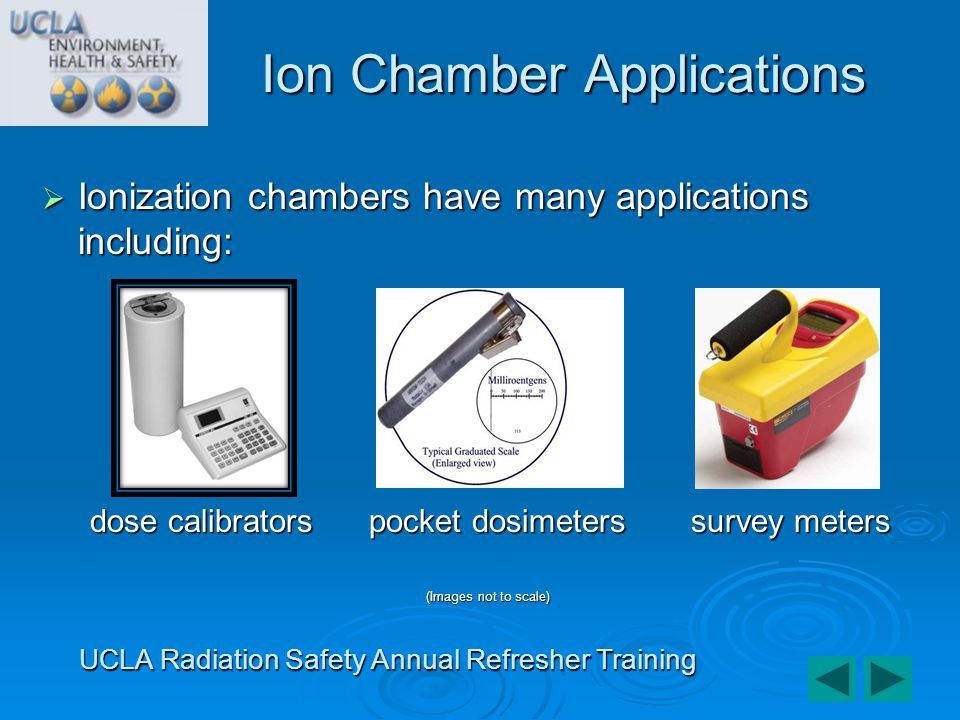 Ion Chamber Applications