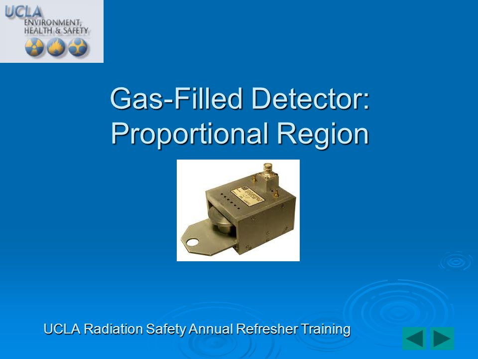 Gas-Filled Detector: Proportional Region