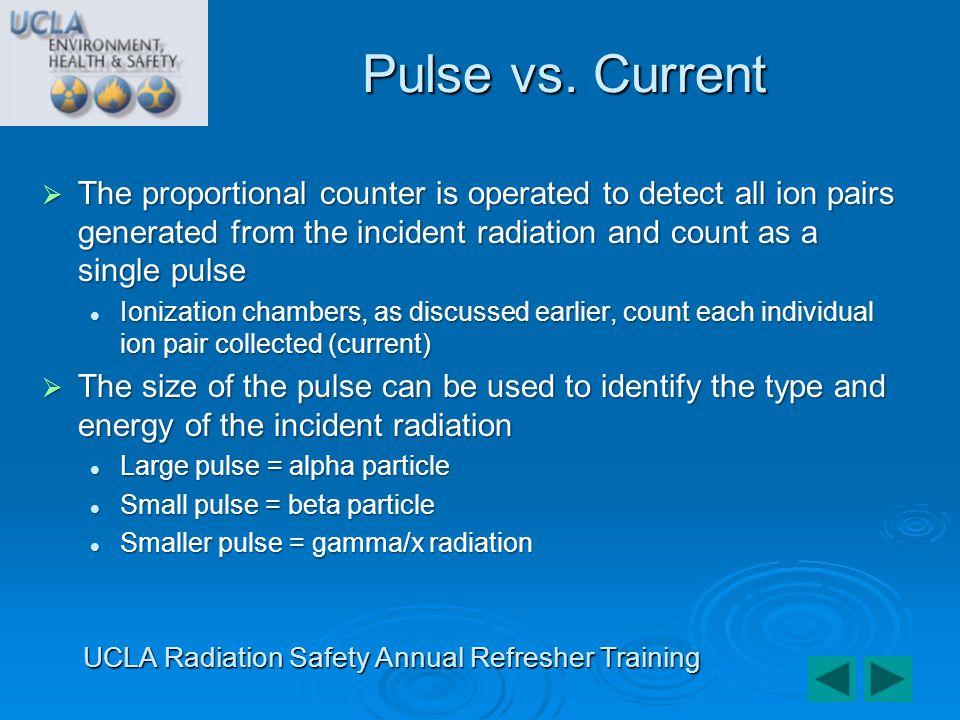UCLA Radiation Safety Annual Refresher Training