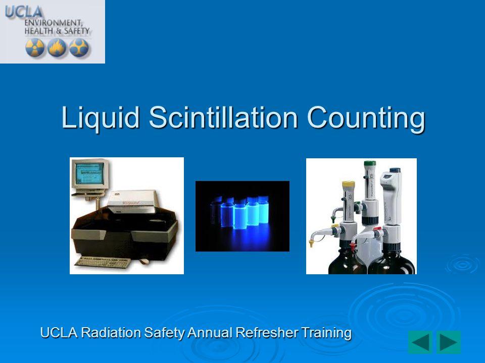 Liquid Scintillation Counting