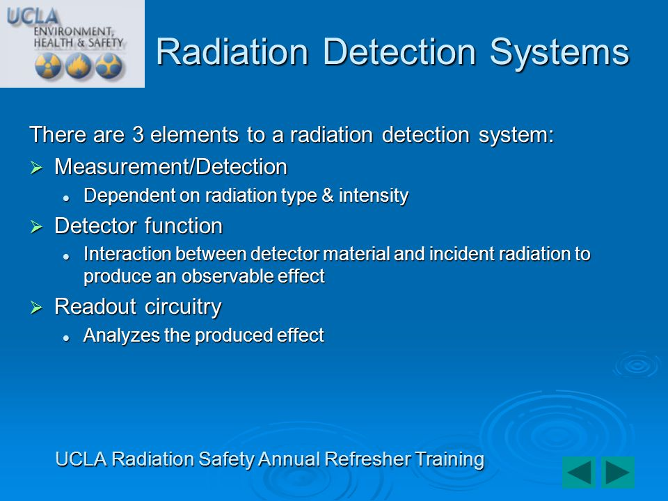Radiation Detection Systems
