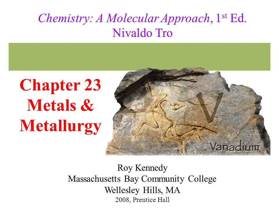 Chapter 23 Metals & Metallurgy