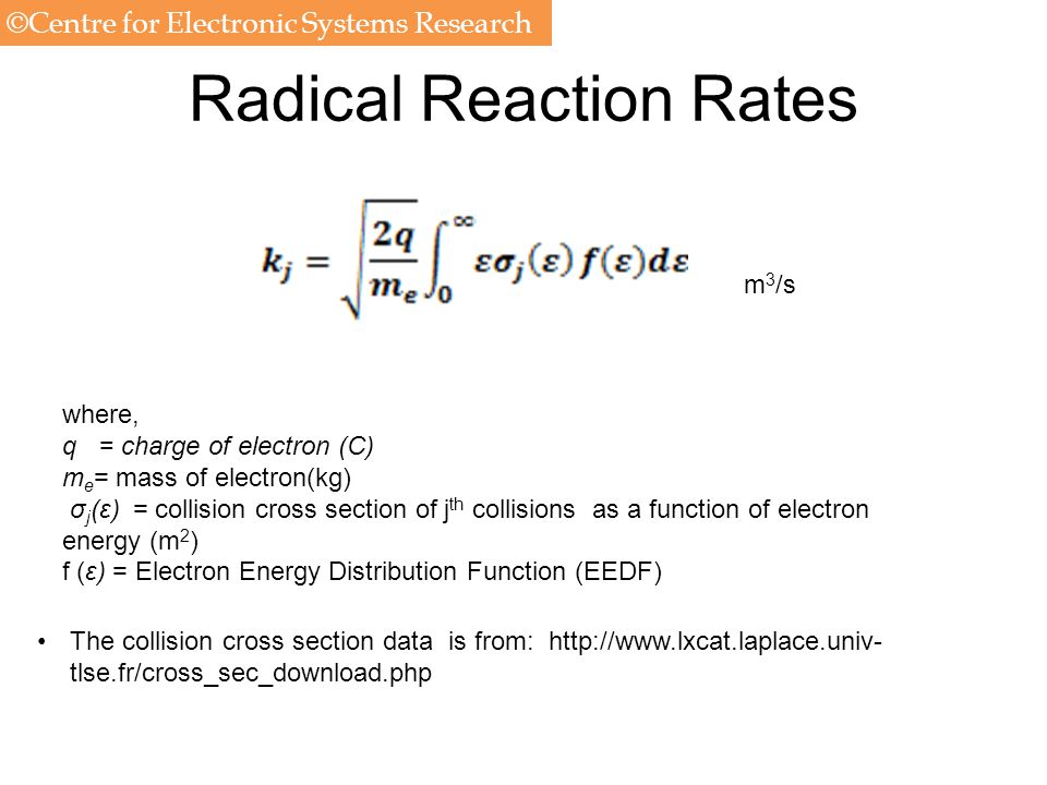 Radical Reaction Rates