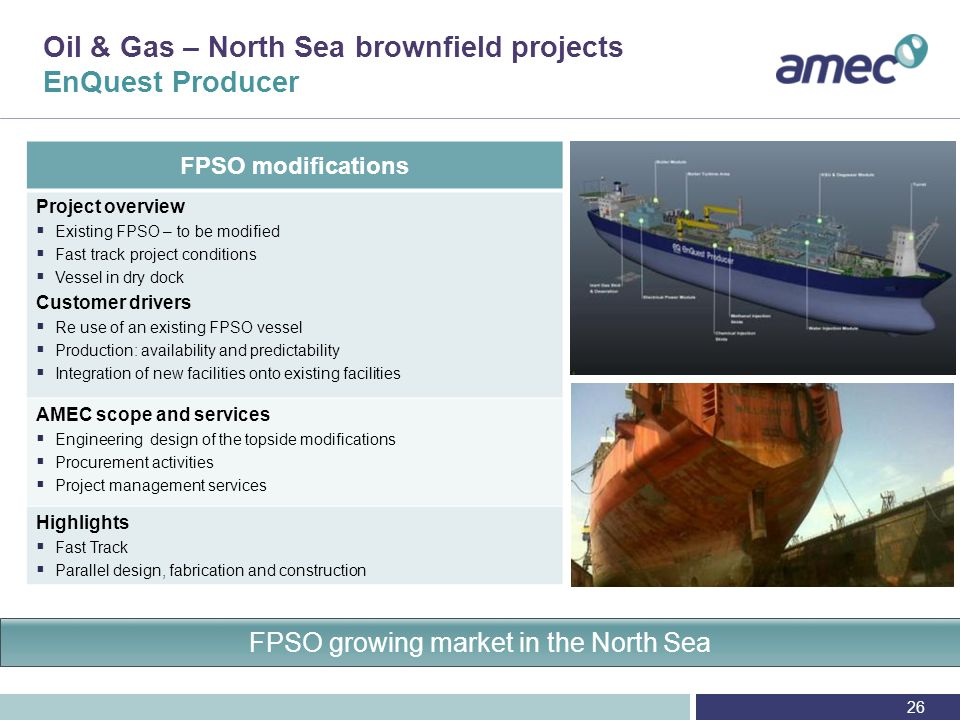 Oil & Gas – North Sea Questions London, 30 October