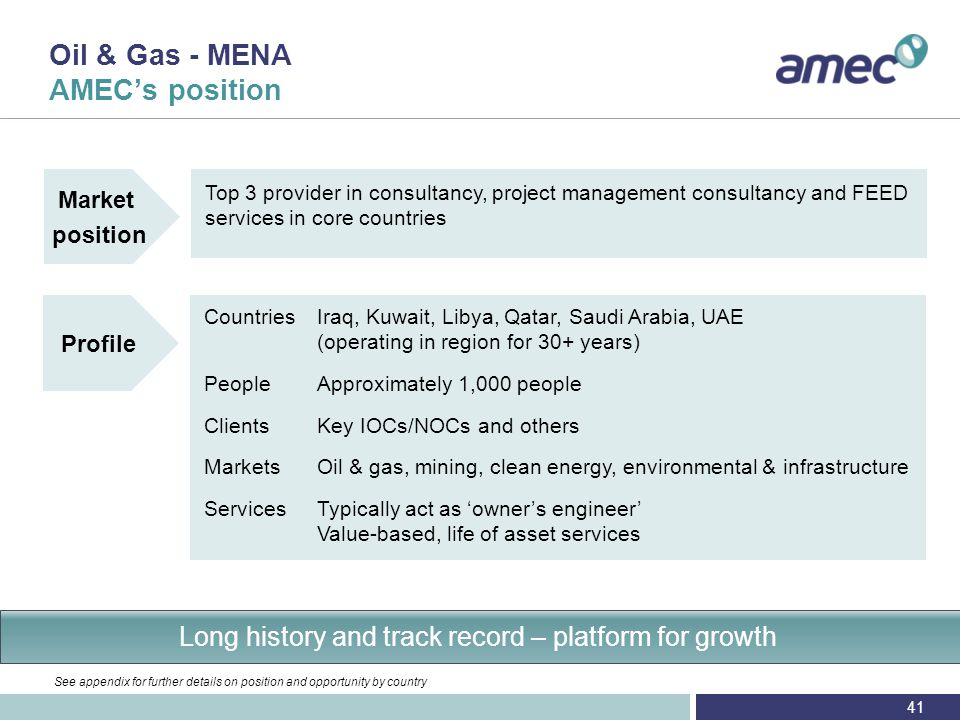 Transitioning from oil & gas dominated business to multi-market