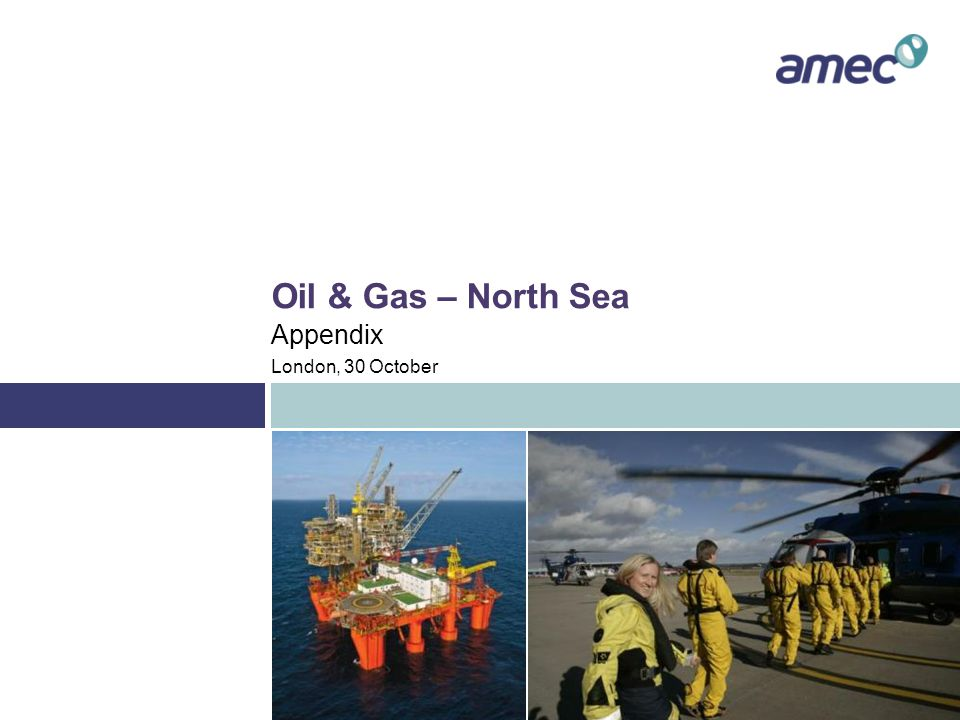 Appendix – North Sea Timeline: major greenfield projects