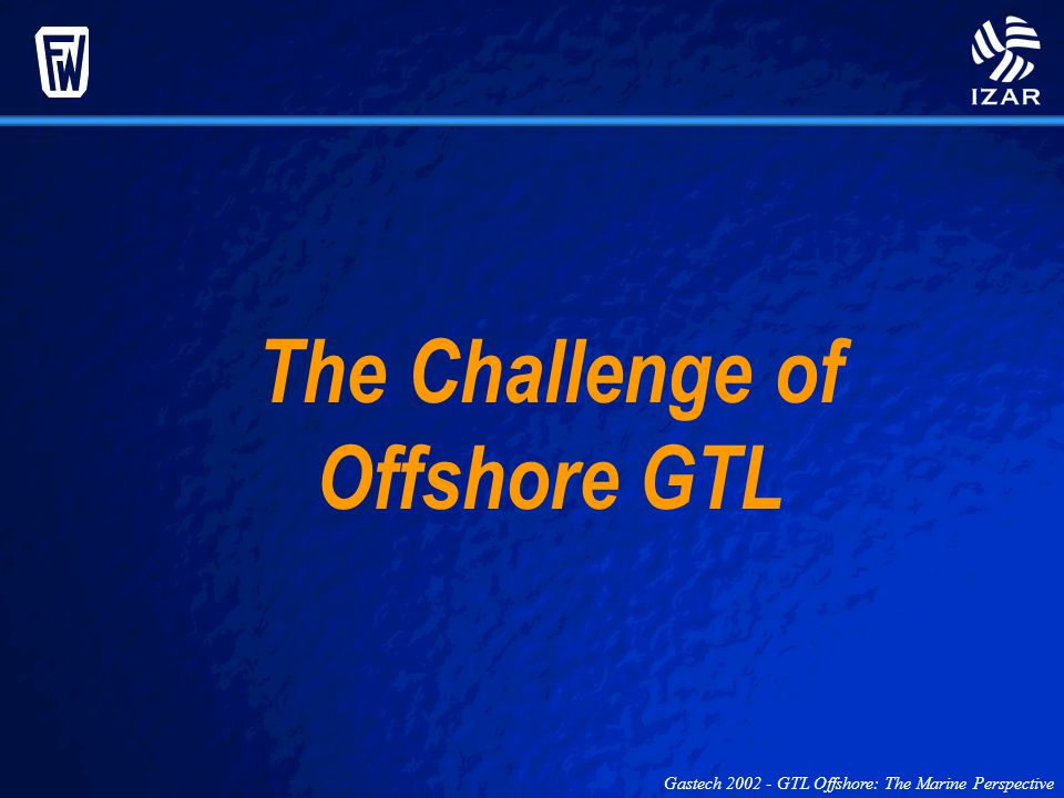 The Challenge of Offshore GTL