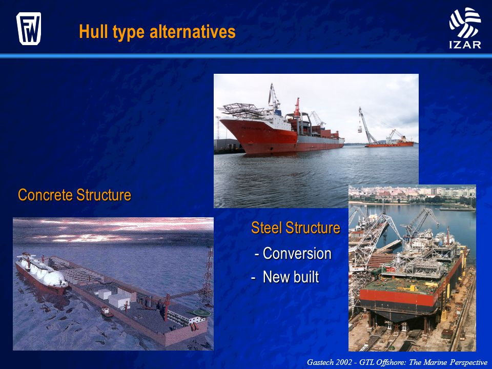 Hull type alternatives