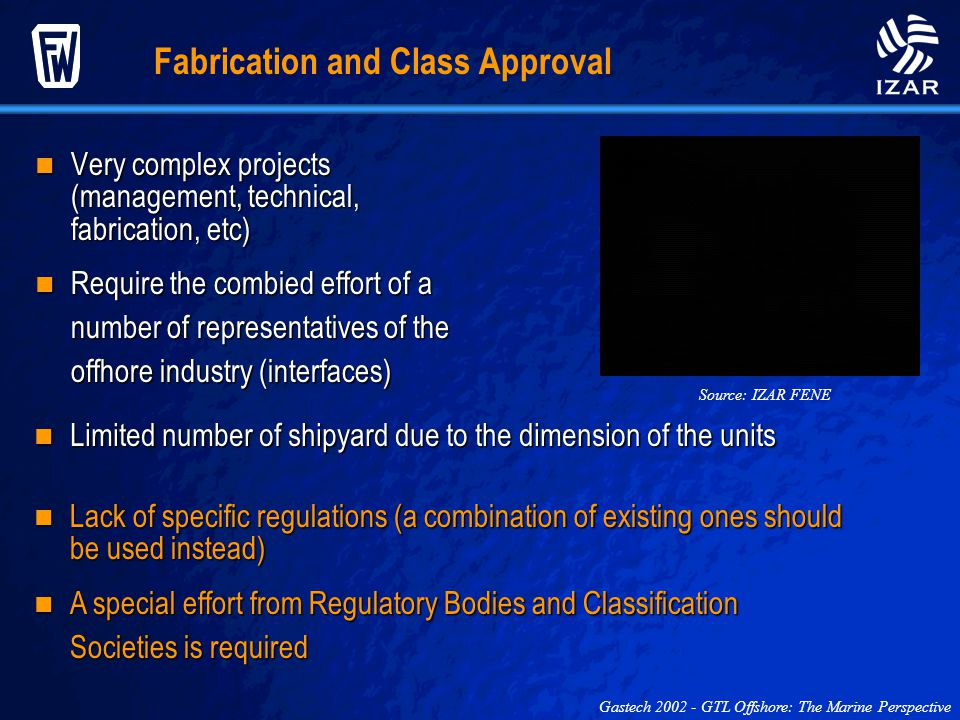 Fabrication and Class Approval