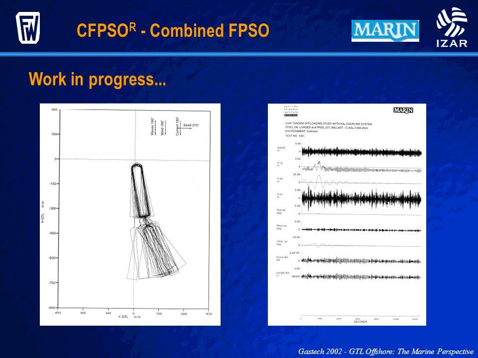CFPSOR - Combined FPSO Work in progress...