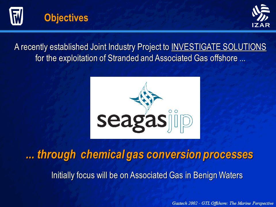 ... through chemical gas conversion processes