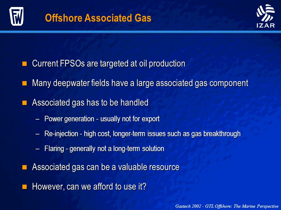 Offshore Associated Gas