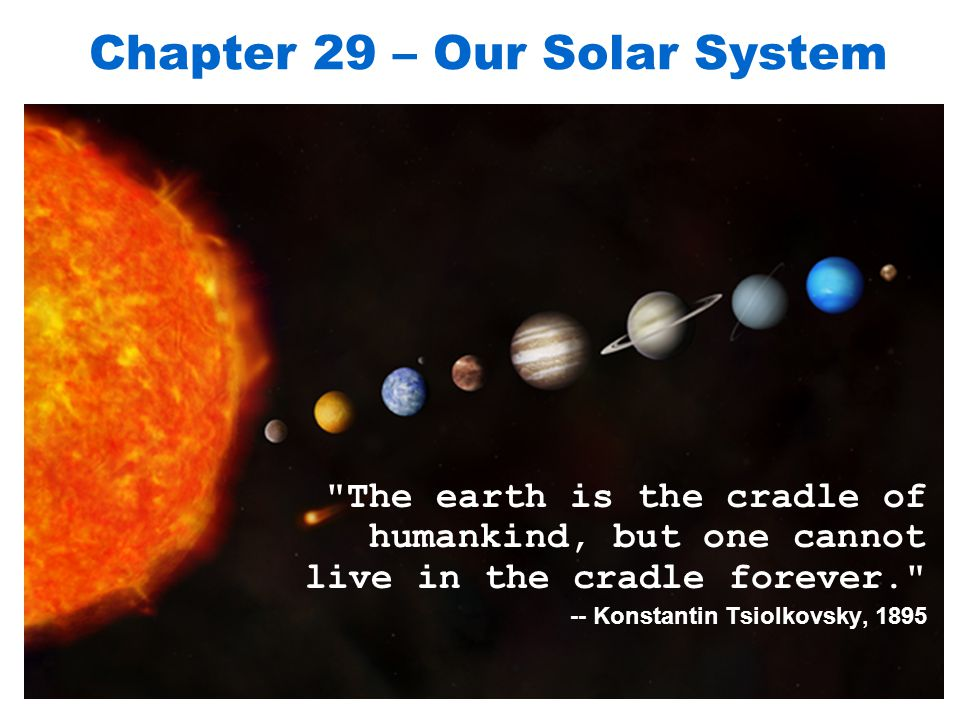 Chapter 29 – Our Solar System - ppt video online download