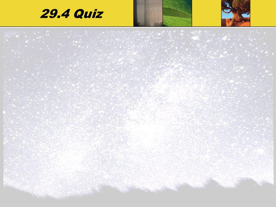 29.4 Quiz