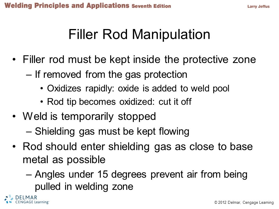 Filler Rod Manipulation