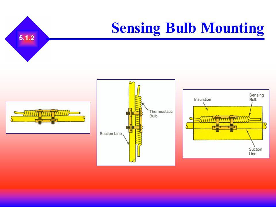 Sensing Bulb Mounting 5.1.2