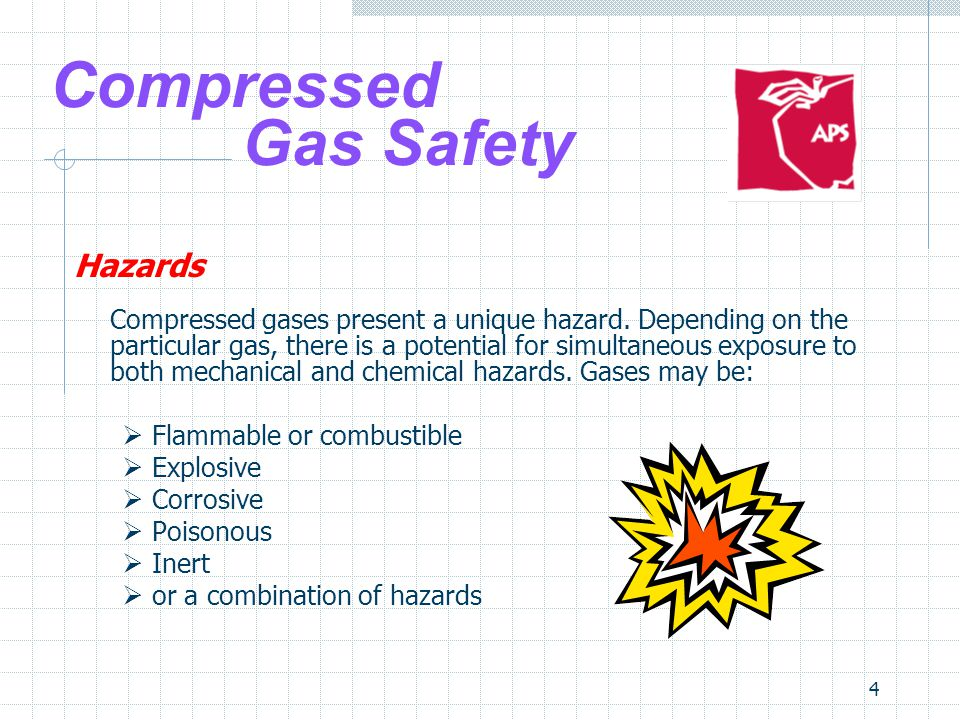 Compressed Gas Safety Hazards