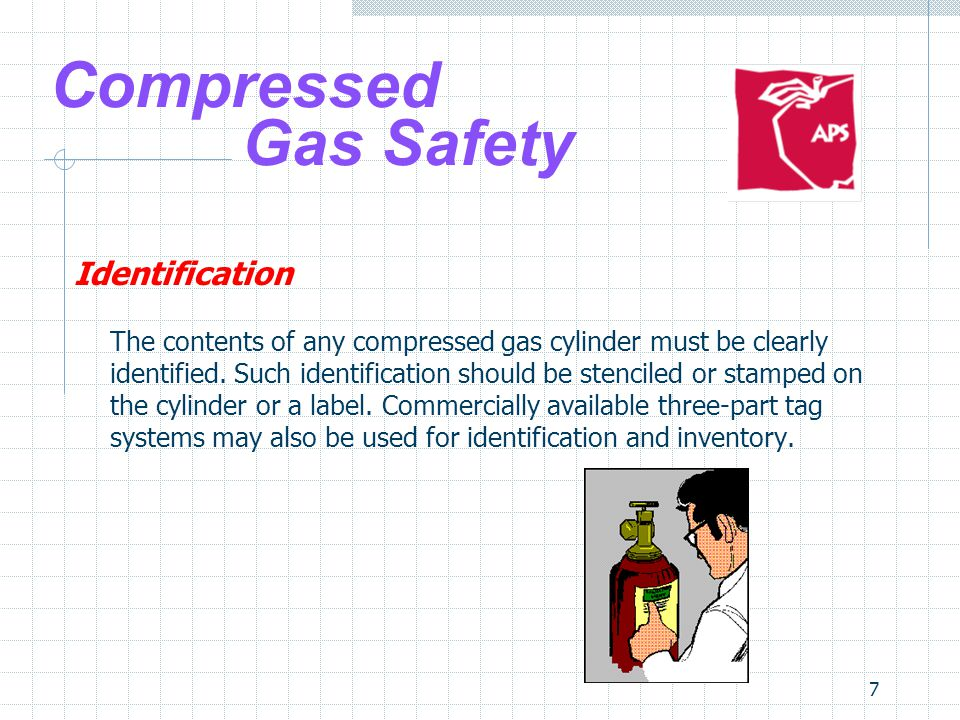 Compressed Gas Safety Identification