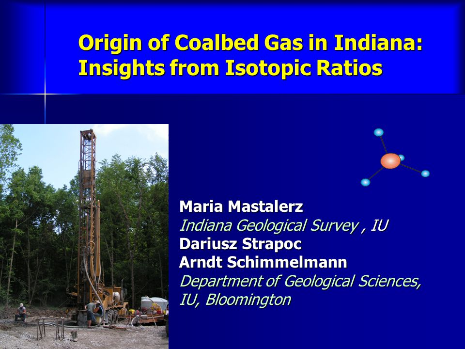 Origin of Coalbed Gas in Indiana: Insights from Isotopic Ratios
