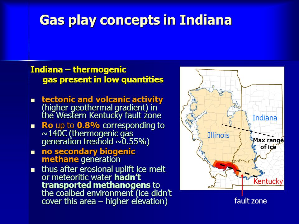 Gas play concepts in Indiana