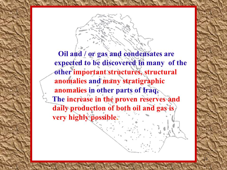 Oil and / or gas and condensates are