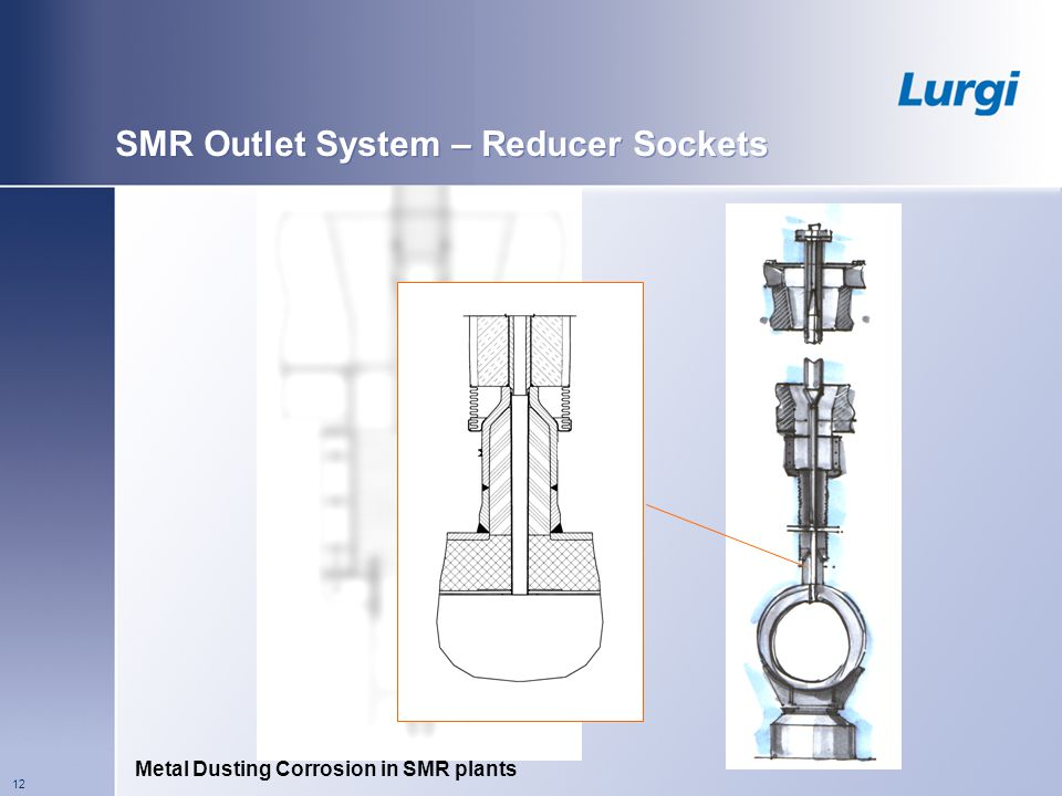 SMR Outlet System – Reducer Sockets