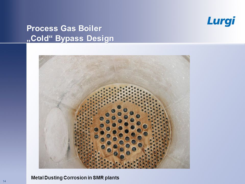 "Process Gas Boiler ""Cold Bypass Design"