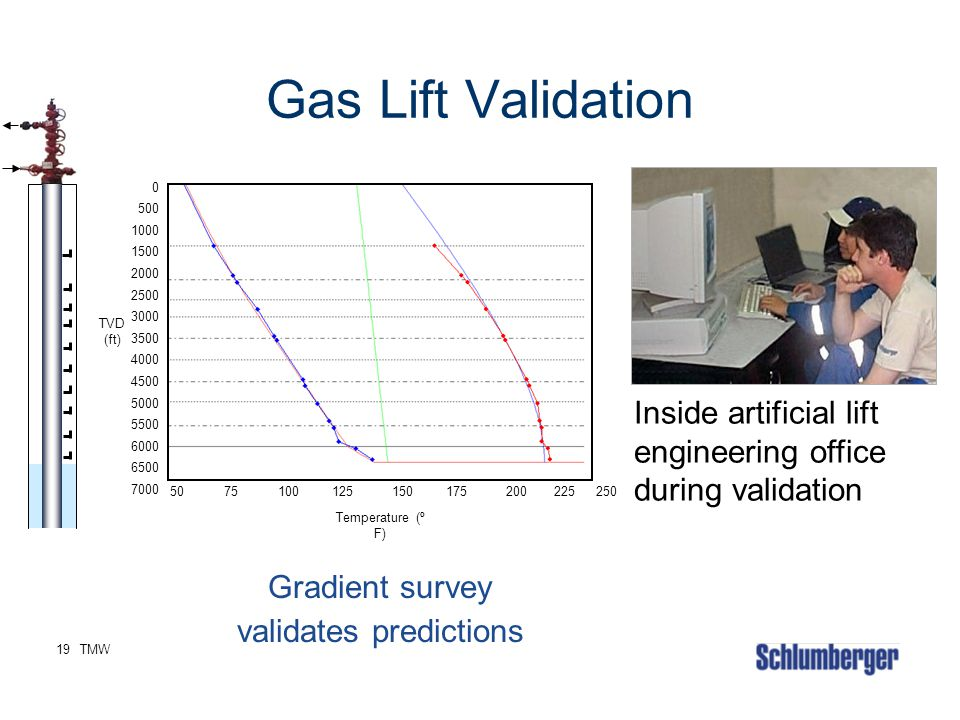 Gradient survey validates predictions