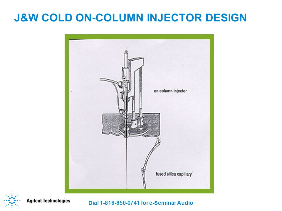 J&W COLD ON-COLUMN INJECTOR DESIGN