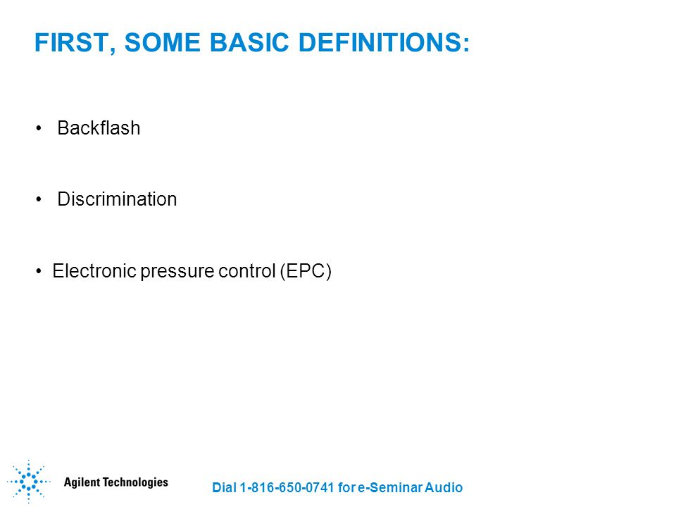 FIRST, SOME BASIC DEFINITIONS: