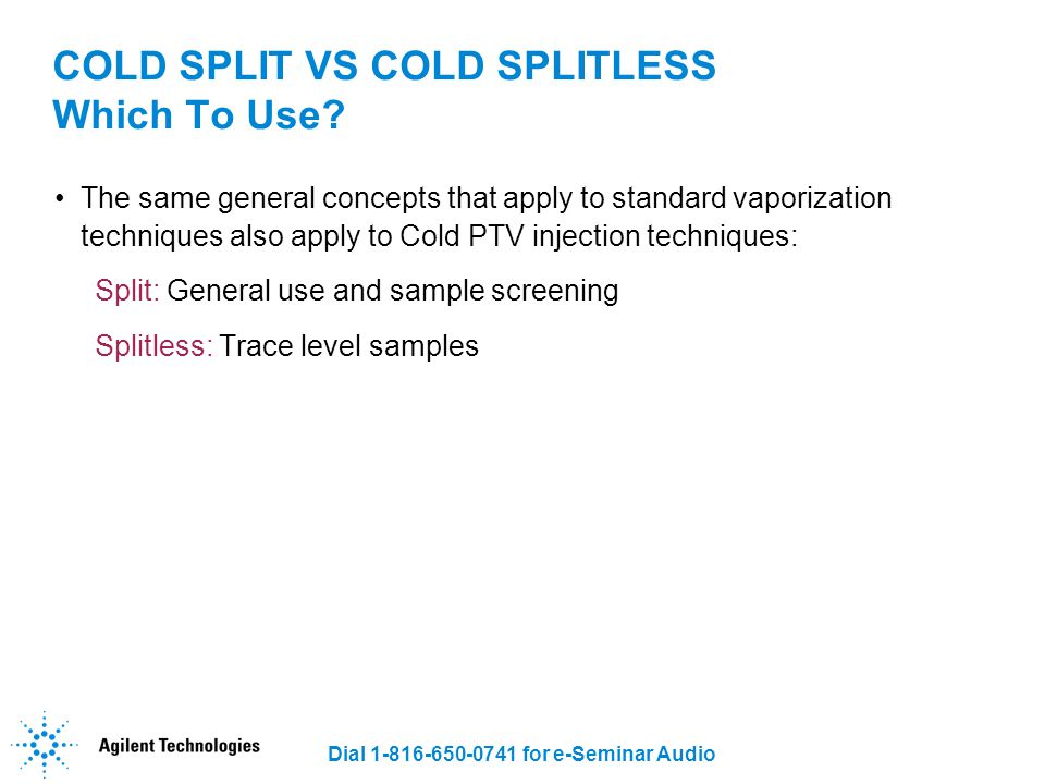 COLD SPLIT VS COLD SPLITLESS Which To Use