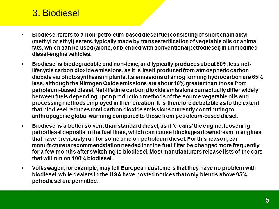 3. Biodiesel