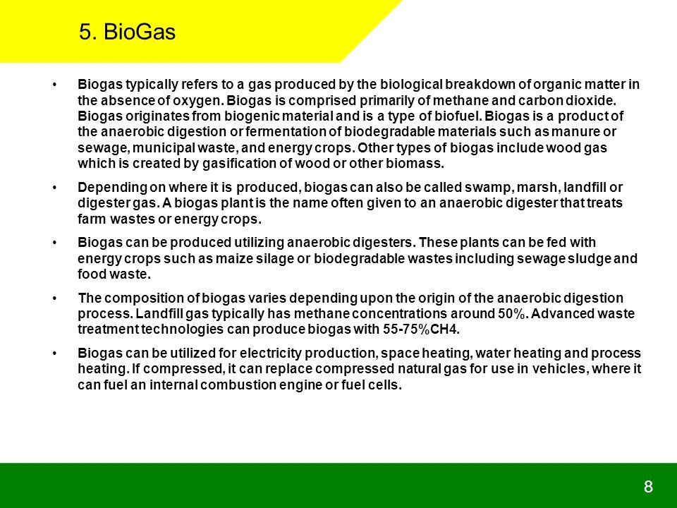 5. BioGas