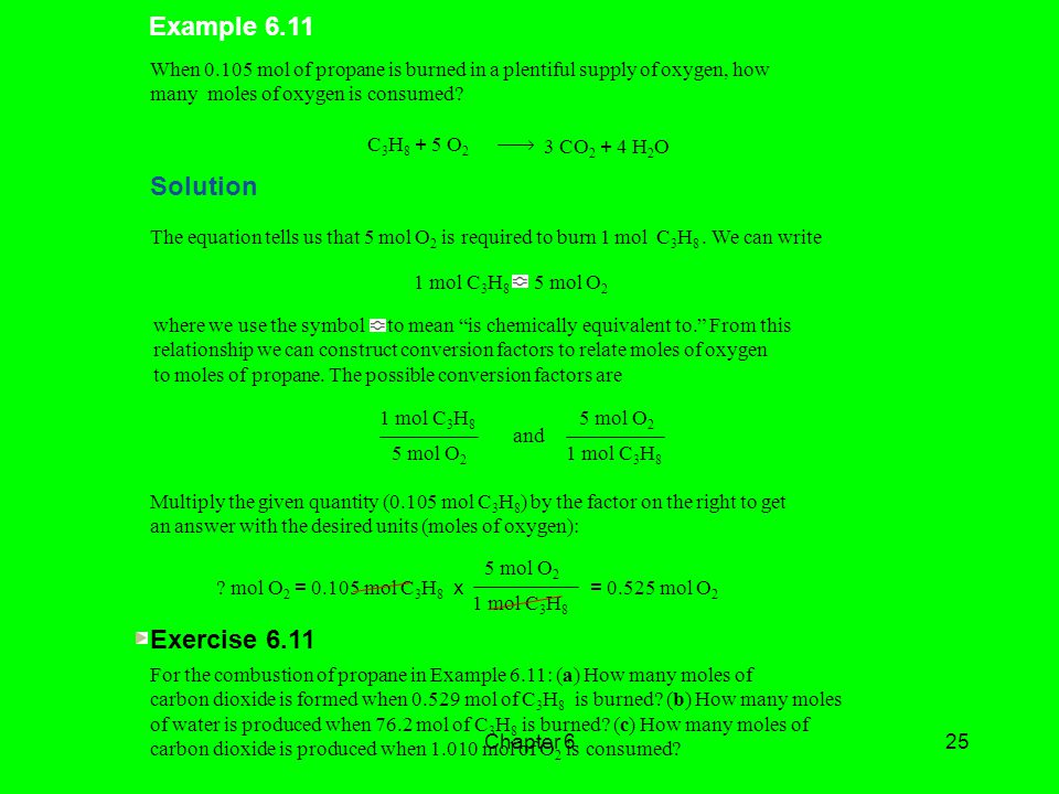 Example 6.11 Solution Exercise 6.11