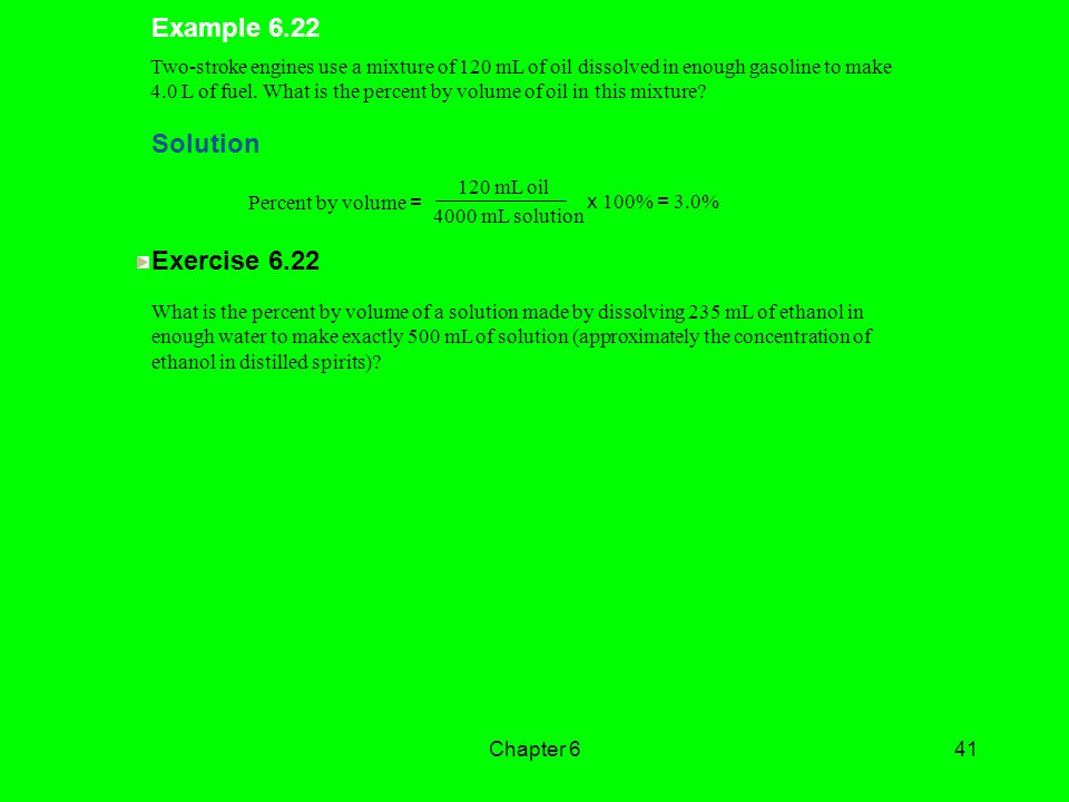 Example 6.22 Solution Exercise 6.22